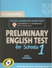 Portada del libro Cambridge Preliminary English Test for Schools 1 Student's Book with Answers