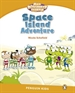 Portada del libro Level 3: Poptropica English Space Island Adventure
