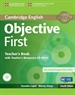 Front pageObjective First Teacher's Book with Teacher's Resources CD-ROM 4th Edition