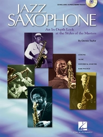 Books Frontpage JAZZ SAXOPHONE   CD