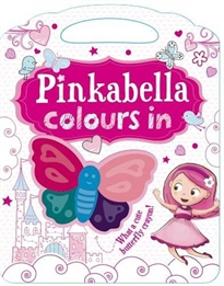 Portada del libro Pinkabella Colours In