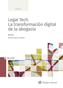 Portada del libro Legal Tech. La transformación digital de la abogacía