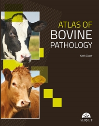 Portada del libro Atlas of bovine pathology