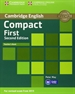 Portada del libro Compact First Teacher's Book 2nd Edition