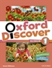 Portada del libro Oxford Discover 1. Activity Book