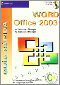 Books Frontpage Guía rápida. Word Office 2003