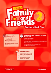 Portada del libro Family and Friends 2nd Edition 2. Teacher's Guide Pack International