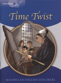 Portada del libro Explorers 6 Time Twist New Ed