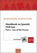 Front pageHandbook on Spanish Civil Law, 2nd. Edition
