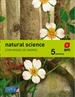 Portada del libro Natural science. 5 Primary. Más Savia. Madrid