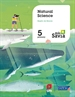 Portada del libro Natural science. 5 Primary. Más Savia. Murcia
