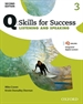 Portada del libro Q Skills for Success (2nd Edition). Listening & Speaking 3. Student's Book Pack