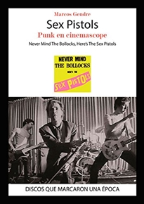 Portada del libro Sex Pistols. Punk en cinemascope