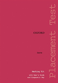 Books Frontpage Oxford Placement Tests 1. Marking Kit Test Revised Ed