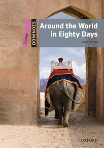 Portada del libro Dominoes Starter. Around the World in Eighty Days MP3 Pack