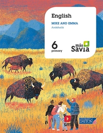 Portada del libro English for Plurilingual Schools. 6 Primary. Más Savia. Andalucía