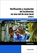 Portada del libro UF0855 - Verificación y resolución de incidencias en una red de área local