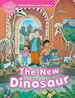 Portada del libro Oxford Read and Imagine Starter The New Dinosaur