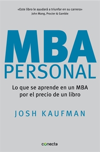 Books Frontpage MBA Personal