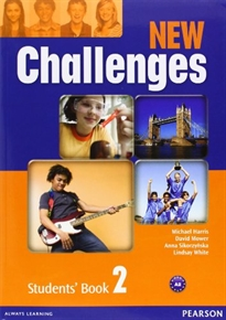 Books Frontpage New Challenges 2 Students' Book & Active Book Pack