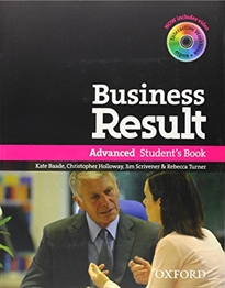 Books Frontpage Business Result Advanced. Student's Book with DVD-ROM + Online Workbook Pack