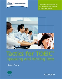 Books Frontpage Tactics for Test of English for International Communication. Speaking and Writing Tests Pack