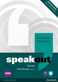 Books Frontpage Speakout Starter Workbook with Key and Audio CD Pack