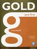 Portada del libro Gold Pre-First Coursebook and CD-ROM Pack