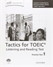 Portada del libro Tactics for Test of English for International Communication. Listening and Reading Test Practice Test 1