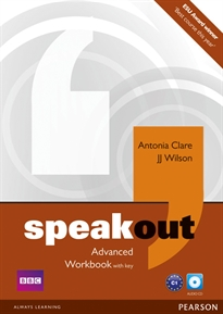 Books Frontpage Speakout Advanced Workbook with Key and Audio CD Pack