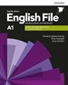 Portada del libro English File 4th Edition A1. Student's Book and Workbook without Key Pack
