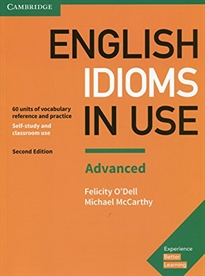 Portada del libro English Idioms in Use Advanced Book with Answers 2nd Edition