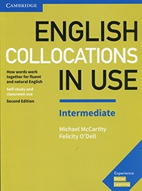 Portada del libro English Collocations in Use Intermediate Book with Answers 2nd Edition