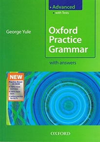 Portada del libro Oxford Practice Grammar Advanced with Answers + Practice-Boost CD-ROM