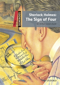 Portada del libro Dominoes 3. Sherlock Holmes. The Sign of Four MP3 Pack