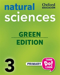 Books Frontpage Think Do Learn Natural Sciences 3rd Primary. Class book pack Galicia