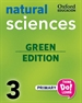 Front pageThink Do Learn Natural Sciences 3rd Primary. Class book pack Galicia