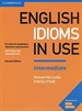 Portada del libro English Idioms in Use Intermediate Book with Answers 2nd Edition
